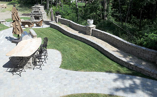 Rosetta Stone Beautiful Landscaping and Function