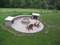 Outdoor Kitchen Kits on Outdoor Kitchens  Built In Grills  Outdoor Fireplaces And Outdoor Wood