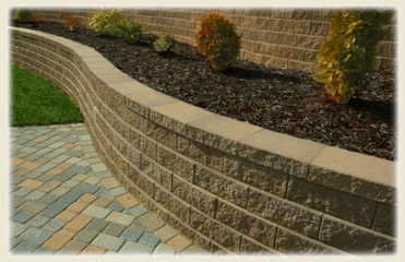 Handy Stone Retaining Wall System
