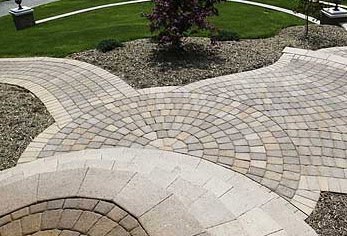 Paving Circle Kits Are Great For Paving Patios With A