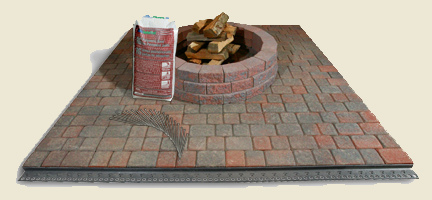 Oxford paving stones concrete pavers for that cobble look on paved patio kit do it yourself solutioingenieria Image collections