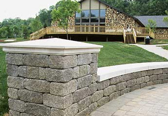 Install Walls Driveways Patios With Block And Stone